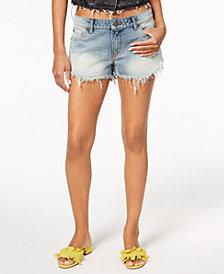 STS Blue Frayed Cheeky Denim Shorts