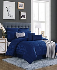 CLOSEOUT! Savoy 10-Pc. Comforter Sets, Created for Macy's