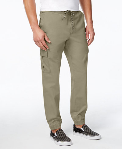 American Rag Men's Slim Fit Cargo Joggers, Created for Macy's