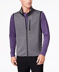 32 Degrees Men's Full-Zip Fleece Tech Vest