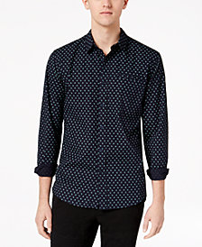 American Rag Men's Printed Shirt, Created for Macy's