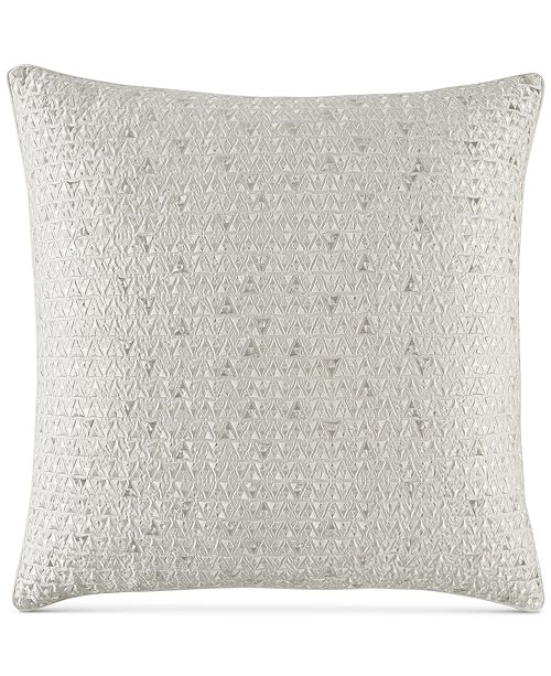 Hotel Collection CLOSEOUT! Gilded Geo European Sham, Created for Macy's