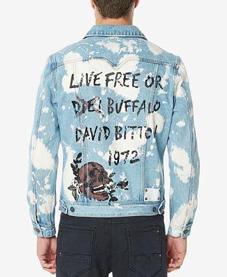 Buffalo David Bitton Men S Joe Denim Jacket Coats Jackets Men