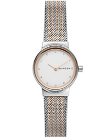 Women's Freja Two-Tone Stainless Steel Mesh Bracelet Watch 26mm