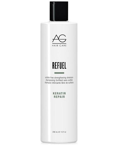 AG Hair Refuel Sulfate-Free Strengthening Shampoo, 10-oz., from PUREBEAUTY Salon & Spa