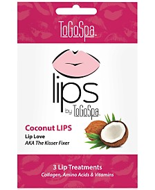 ToGoSpa Coconut Lips Collagen Gel Mask, from PUREBEAUTY Salon & Spa