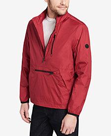 Calvin Klein Men's Packable Half-Zip Windbreaker