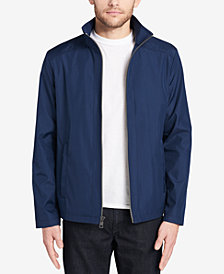 Calvin Klein Men's Stand Collar Windbreaker