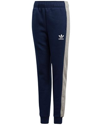 adidas Originals Colorblocked Fleece Pants, Big Boys