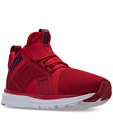 Puma Men's Enzo Mesh Wide Casual Sneakers from Finish Line