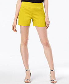 I.N.C. Curvy Pull-On Shorts, Created for Macy's