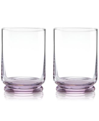 Charles Lane Double Old Fashioned Glasses, Set of 2