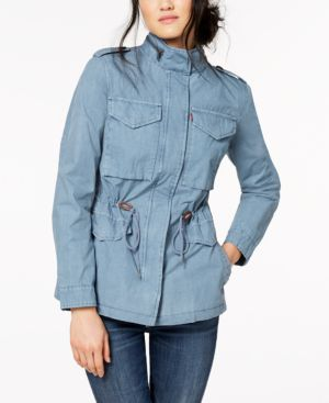 LIGHTWEIGHT COTTON FIELD JACKET