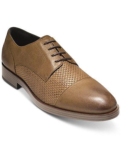 Cole Haan Men's Henry Grand Cap-Toe Oxfords