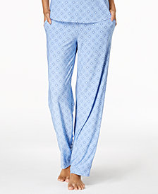 Alfani Diamond-Print Pajama Pants, Created for Macy's