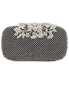 I.N.C. Jennah Rhinestone Clutch, Created for Macy's