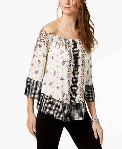 Style & Co Off-The-Shoulder Top, Created for Macy's