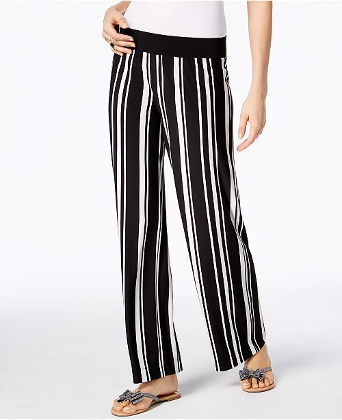 INC International Concepts INC Striped Soft Pants, Created for Macy's
