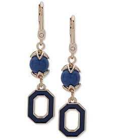 Ivanka Trump Gold-Tone Bead & Link Drop Earrings