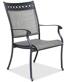 Vintage II Outdoor Sling Dining Chair, Created for Macy's