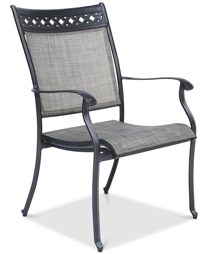 Furniture - Vintage II Outdoor Sling Dining Chair, Created for Macy's