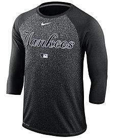 Nike Men's New York Yankees AC Cross-Dye Raglan T-Shirt
