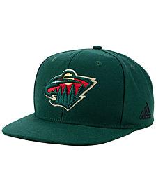 adidas Minnesota Wild Core Snapback Cap