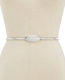 I.N.C. Oval Chain Stretch Belt, Created for Macy's