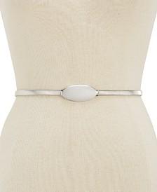 I.N.C. Oval Chain Stretch Belt, Created for Macy's