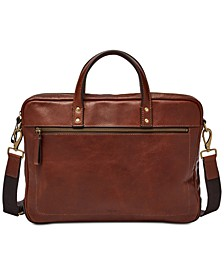 Men's Haskell Leather Briefcase