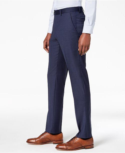 a8b406481cc46c Tommy Hilfiger Men's Modern-Fit TH Flex Stretch Suit Pants & Reviews ...