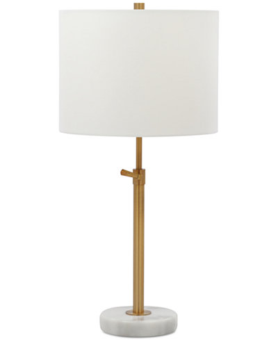 Decorator's Lighting Burkey Adjustable Table Lamp