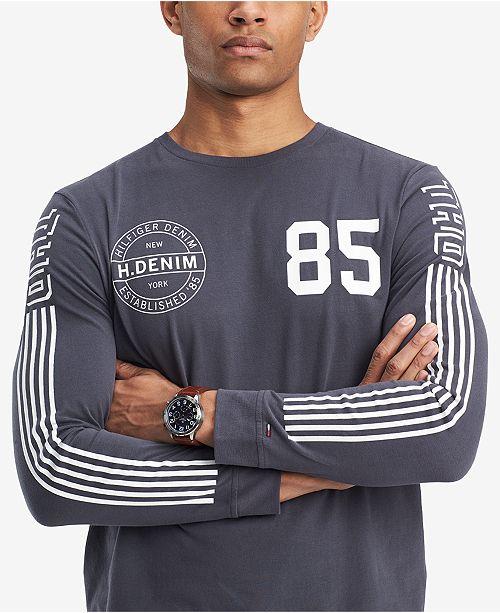 fefc793cc5 Tommy Hilfiger Men s Graphic-Print T-Shirt   Reviews - T-Shirts - Men ...