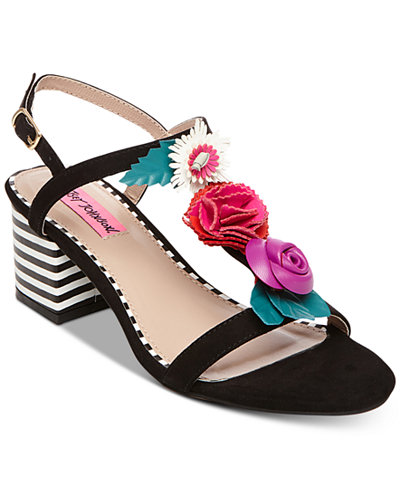 Betsey Johnson Andey Dress Sandals