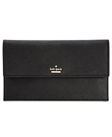 kate spade new york Brennan Mini Saffiano Leather Crossbody Wallet