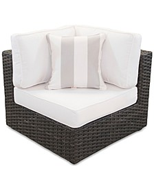 Viewport Outdoor Corner Unit with Sunbrella® Cushion, Created for Macy's