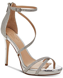 Jewel Badgley Mischka Galen Platform Evening Sandals
