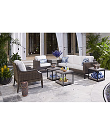 CLOSEOUT! Fiji Outdoor Collection, with Sunbrella® Cushions, Created for Macy's