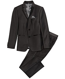 Dot Tuxedo Jacket & Pants Separates, Big Boys