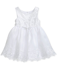 Sweet Heart Rose Lace-Trim Dress, Toddler Girls