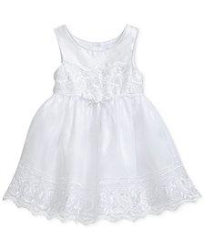 Sweet Heart Rose Lace-Trim Dress, Toddler Girls