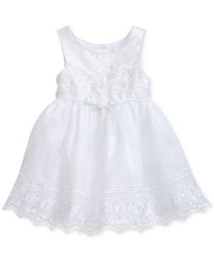 Sweet Heart Rose Lace-Trim Dress, Toddler Girls 5724908