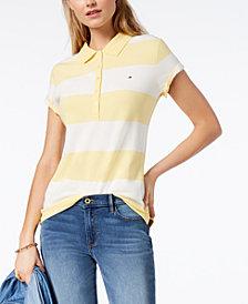 Tommy Hilfiger Striped Piqué Polo Shirt