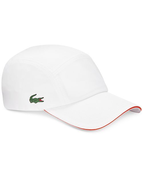 f452e641 Lacoste Men's Diamond-Weave Taffeta Sport Hat & Reviews - Hats ...