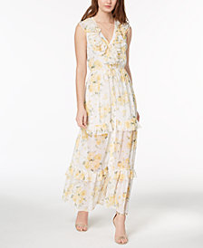 Disney Princess Juniors' Ruffled Maxi Dress