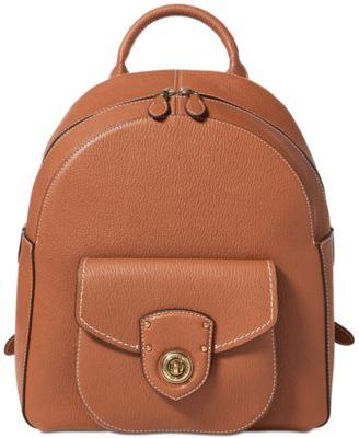 947ba31bd446 Lauren Ralph Lauren Millbrook Backpack   Reviews - Handbags   Accessories -  Macy s