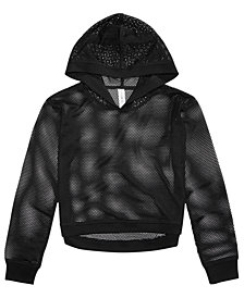 Ideology Mesh Hoodie, Big Girls, Created for Macy's
