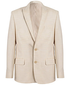 Calvin Klein Stretch Twill Jacket, Big Boys