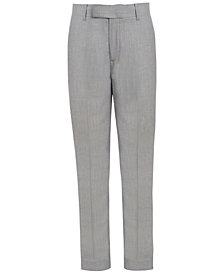 Calvin Klein Stretch Textured Pants, Big Boys
