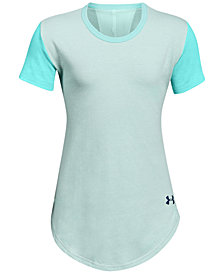 Under Armour Charged Cotton® Finale T-Shirt, Big Girls